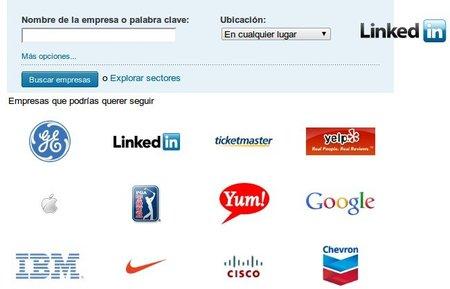 LinkedIn ahora añade páginas de empresa