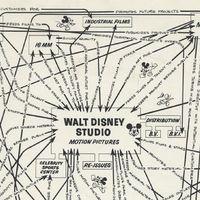 El mapa de 1967 que demuestra que Disney siempre pensó en un sistema cerrado