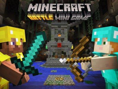 """""""Battle"""", el modo multijugador competitivo llega en junio a Minecraft de manera gratuita"""