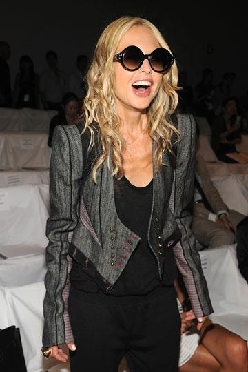 Foto de Blake Lively, Madonna y otras famosas en los distintos front row de la Semana de la Moda de Nueva York (9/17)