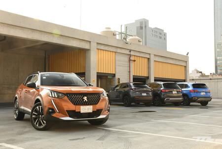 Volkswagen Taos Vs Mazda Cx 30 Seat Ateca Peugeot 2008 Comparativa Mexico 6