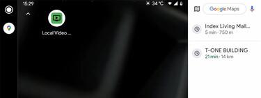Cómo ver vídeos del móvil en Android Auto con Local Video Player