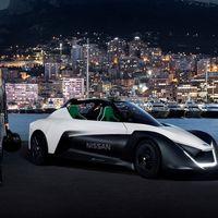 Margot Robbie se pasea a bordo del Nissan BladeGlider en Monte Carlo