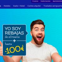 Ahorra hasta 100 euros en tus vacaciones con las rebajas de eDreams