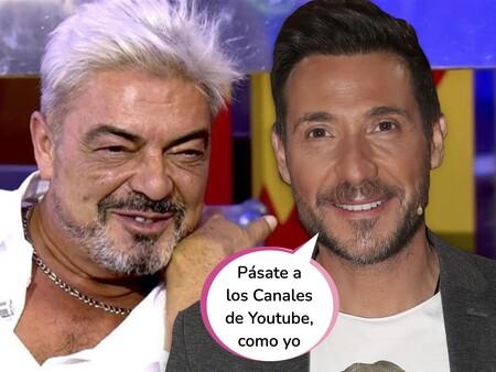 """Antonio David Flores aprovecha el despido en directo de Antonio Canales para boicotear a 'Sálvame': """"Es vergonzoso e indignante lo que se vivió"""""""