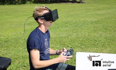 Si unimos el Oculus Rift a un Drone volador...