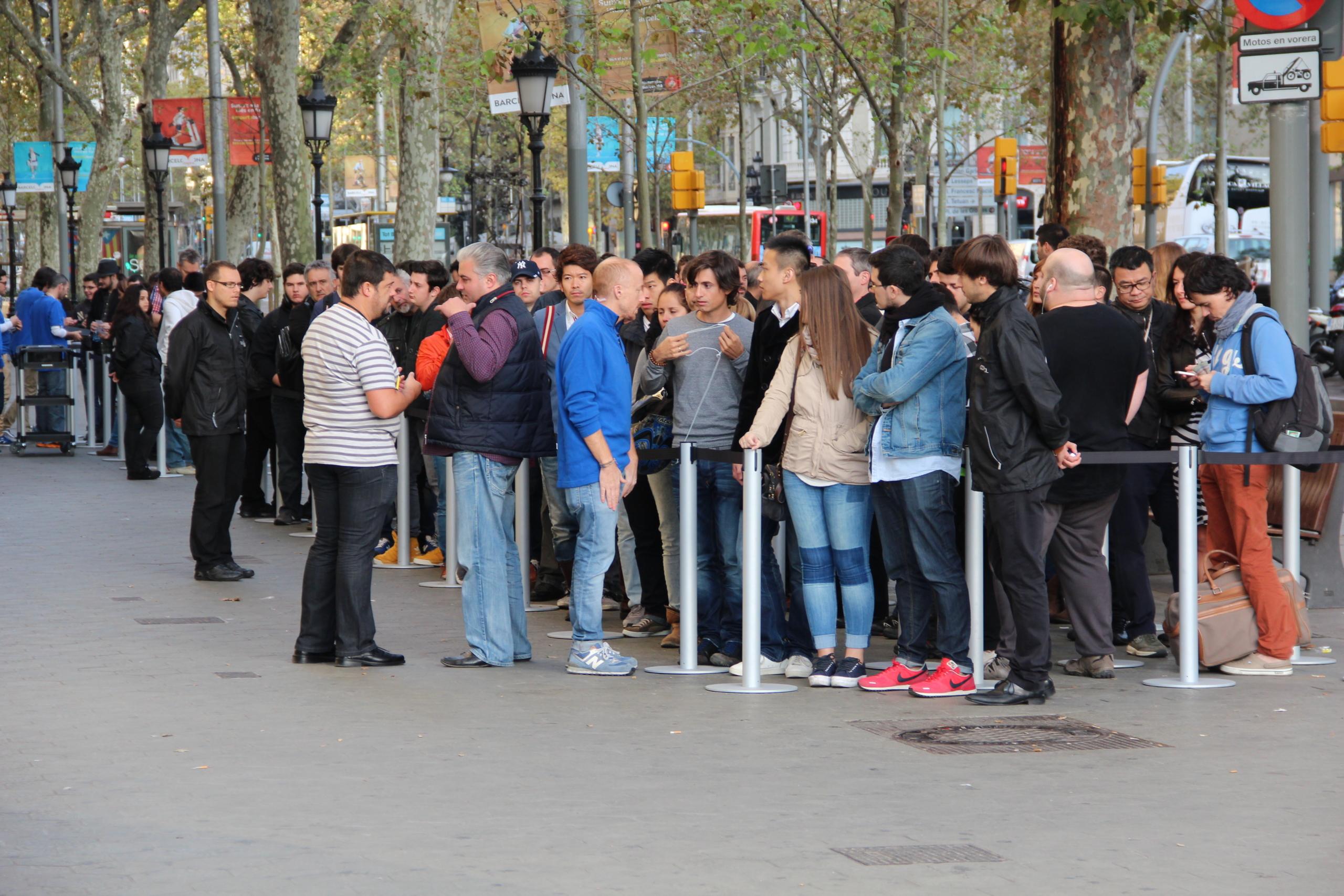 Foto de Lanzamiento del iPad Air en Barcelona (30/30)