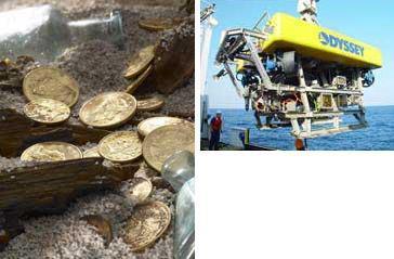 España gana en la disputa por el tesoro Odyssey
