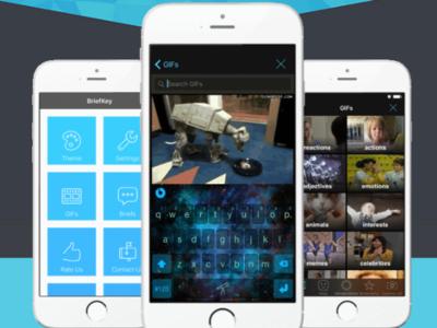 BriefKey, el nuevo teclado para iPhone que es toda una caja de sorpresas