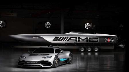 Cigarette Racing 515 Project One: una lancha rápida inspirada en el hiperdeportivo de Mercedes-AMG