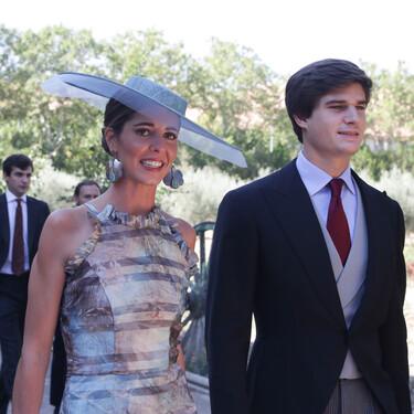 Boda de María Corsini y Mario Osorio: así es el vestido de la novia y el look de invitada de su hermana Belén