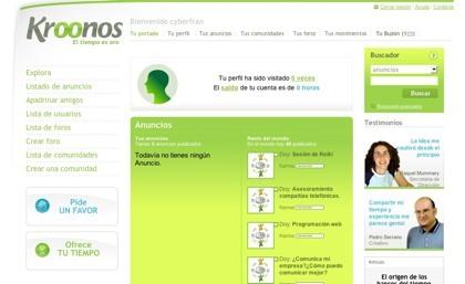 Kroonos, el banco global del intercambio de servicios por tiempo