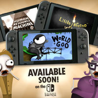 World of Goo, Little Inferno y Human Resource Machine se dejan ver en sus nuevos tráileres para Nintendo Switch
