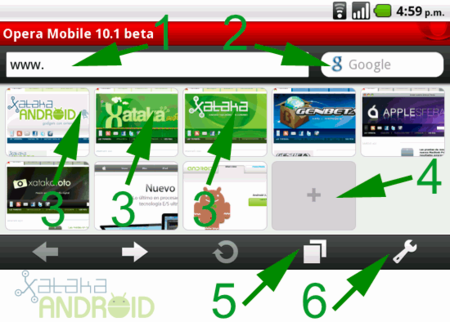 Opera Mobile para Android