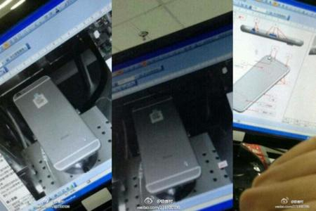 Un supuesto iPhone 6 aparece en fotografías dentro de Foxconn