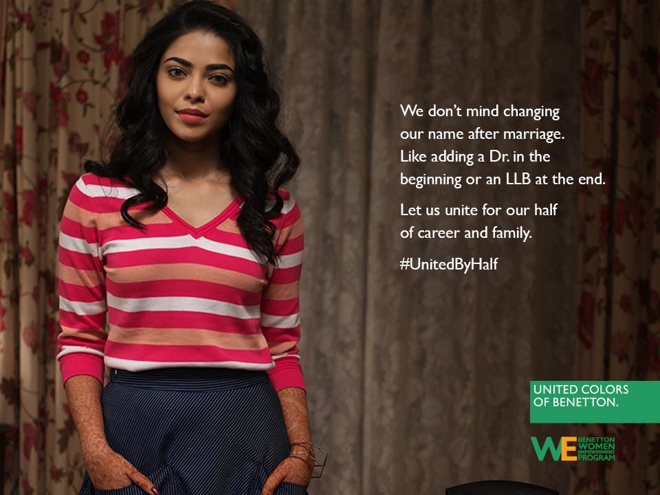 Foto de Hoy es Día Internacional de la Mujer y Benetton lucha por la igualdad entre hombres y mujeres (14/19)
