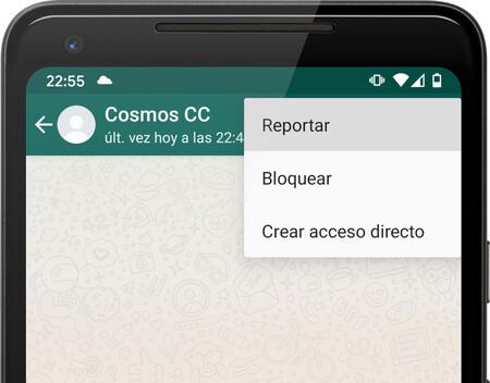 WhatsApp reenviará los mensajes más recientes al reportar a un contacto o grupo