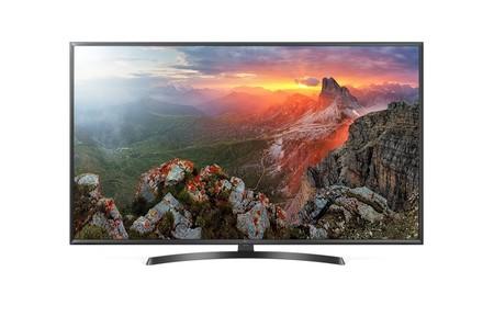 Smart TV 4K de 50 pulgadas LG 50UK6470, con inteligencia artificial ThinQ, por 529 euros y envío gratis