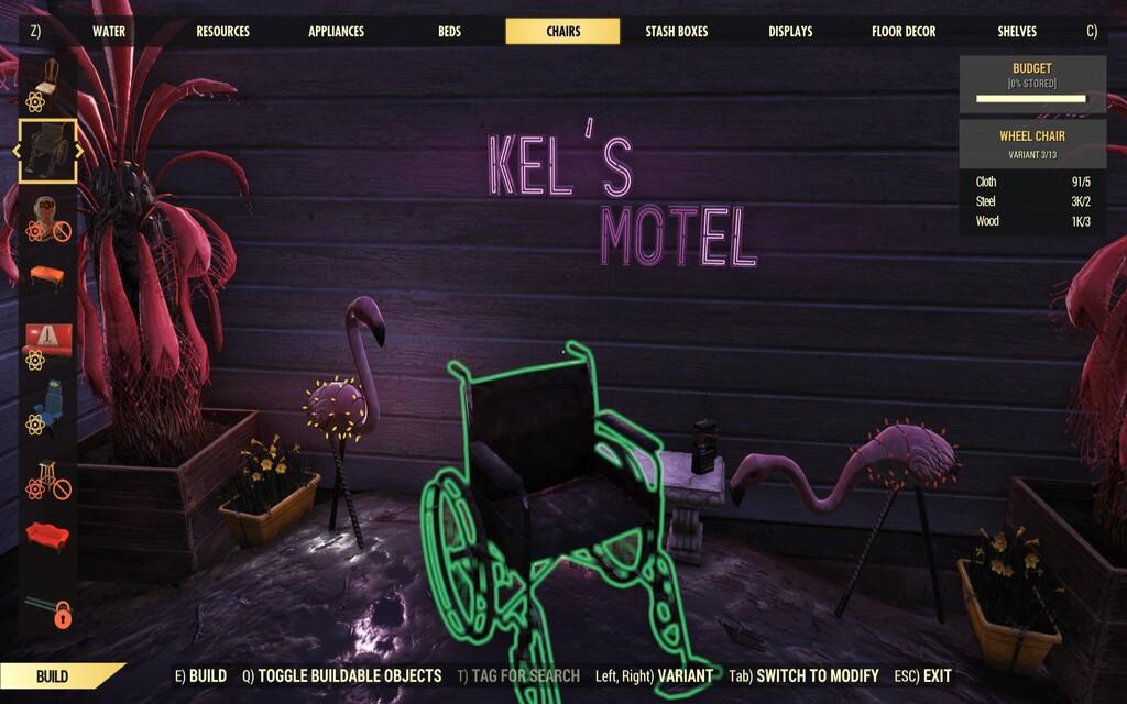 Fallout 76 incluye una silla de ruedas al juego tras la petición de una fan con problemas de movilidad
