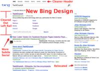 Bing renueva su web con un diseño mucho más limpio