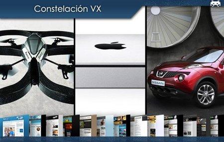 El helicóptero AR Drone, el nuevo Mac mini y el peculiar Nissan Juke. Constelación VX (X)