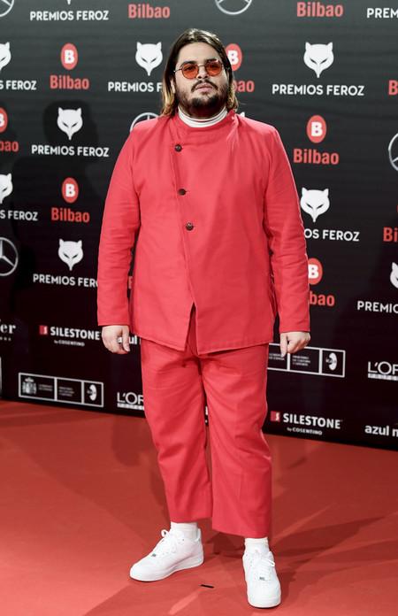 Brais Efe Premios Feroz Alfombra Roja Red Carpet Trendencias Hombre