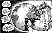 La enfermedad de Grecia, España e Italia contagia a Francia, Alemania y el resto del mundo