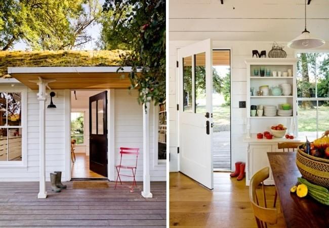 Puertas abiertas tiny house una peque a casa de campo en portland - Decoracion de casas de campo pequenas ...