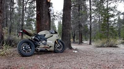 Ducati 1199 Panigale Terracorsa, ruedas de tacos para la superbike italiana