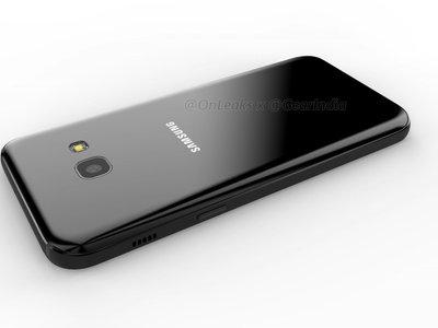 Samsung Galaxy A3 2017: nuevos renders revelan su posible diseño, también en vídeo