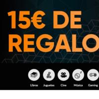 15 euros de regalo por cada 100 euros de compra en Fnac durante el 26 y 27 de marzo