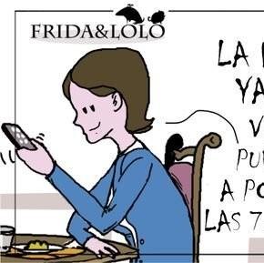 Las viñetas de 'Frida y Lolo' que supuestamente plagian las publicaciones de famosos tuiteros como Gerardo Tecé o Moe de Triana