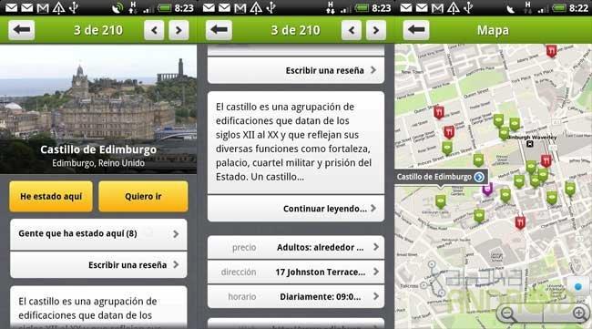 Tourist Eye, información turística