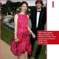 Sofia Coppola la mejor vestida según Vogue