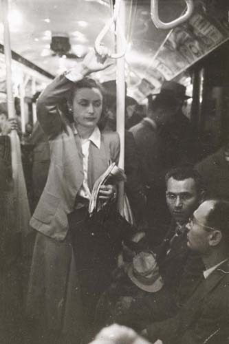 Foto de Stanley Kubrick y el metro de Nueva York (1/10)