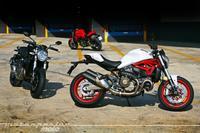 Ducati Monster 821, toma de contacto (segunda parte)