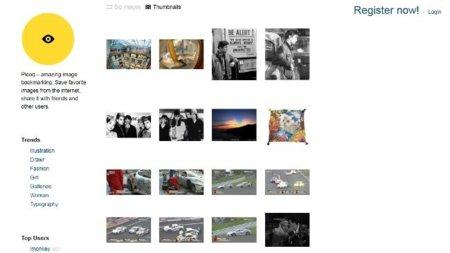 Pleeq, un servicio para almacenar las imágenes que encontramos por la web