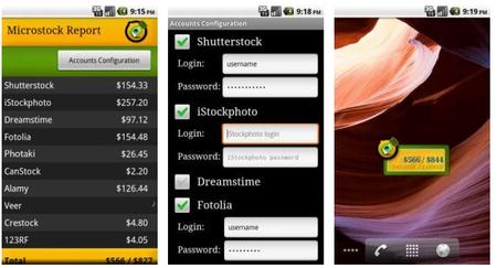 Microstock Report: controla tus ventas desde tu smartphone