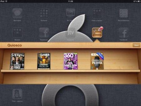El quiosco de iOS debuta con buen pie según Condé Nast