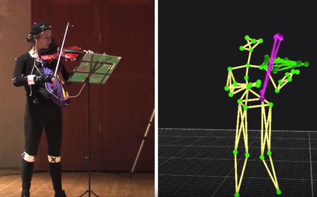 Científicos de la UPF desarrollan una IA para capturar el movimiento de los violinistas y ayudarles a evaluar y mejorar su técnica