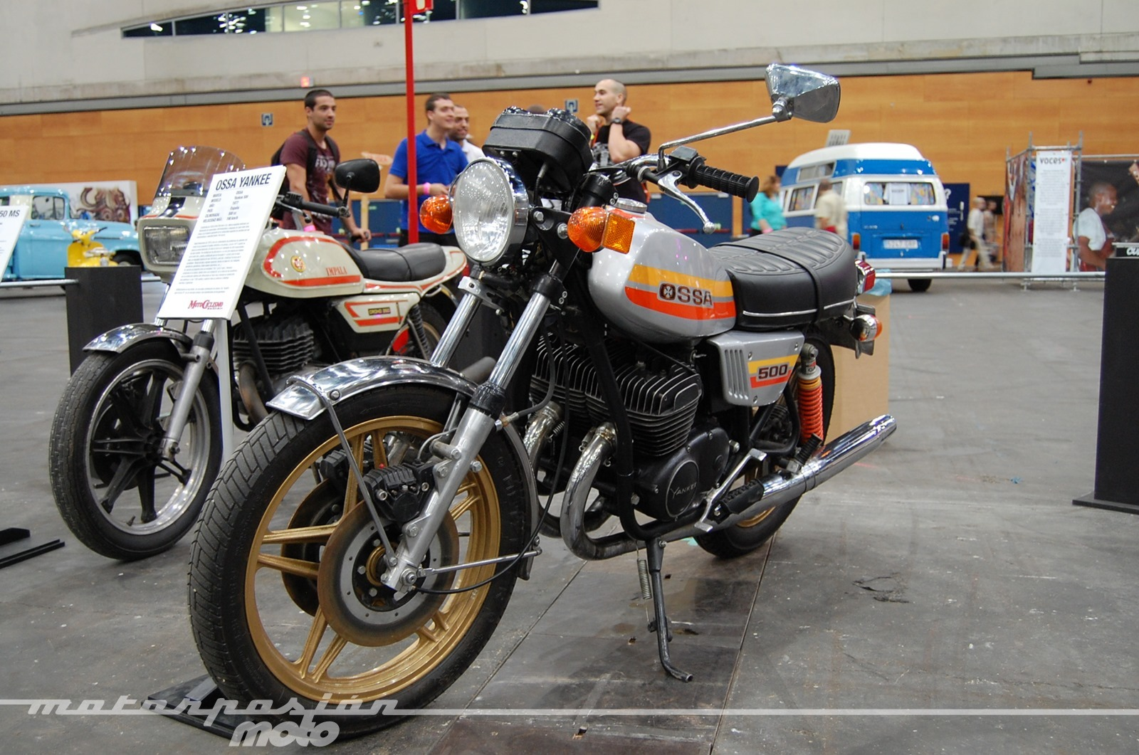 Foto de Mulafest 2014, exposición de motos clásicas (18/35)