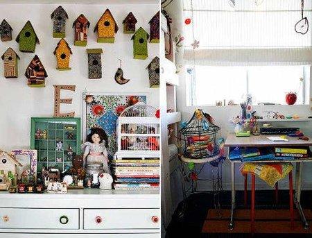 Detalles del dormitorio infantil.