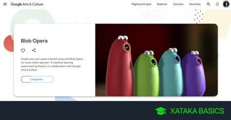 Blob Opera, cómo crear una divertida ópera con el experimento de Google Arts & Culture