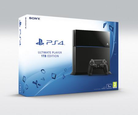 Sony no espera más y hace oficial su PlayStation 4 con 1TB de almacenamiento