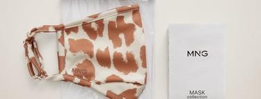 """Mango se apunta a la """"nueva moda"""": mañana se ponen a la venta sus mascarillas de tela (con estampados) y geles desinfectantes"""