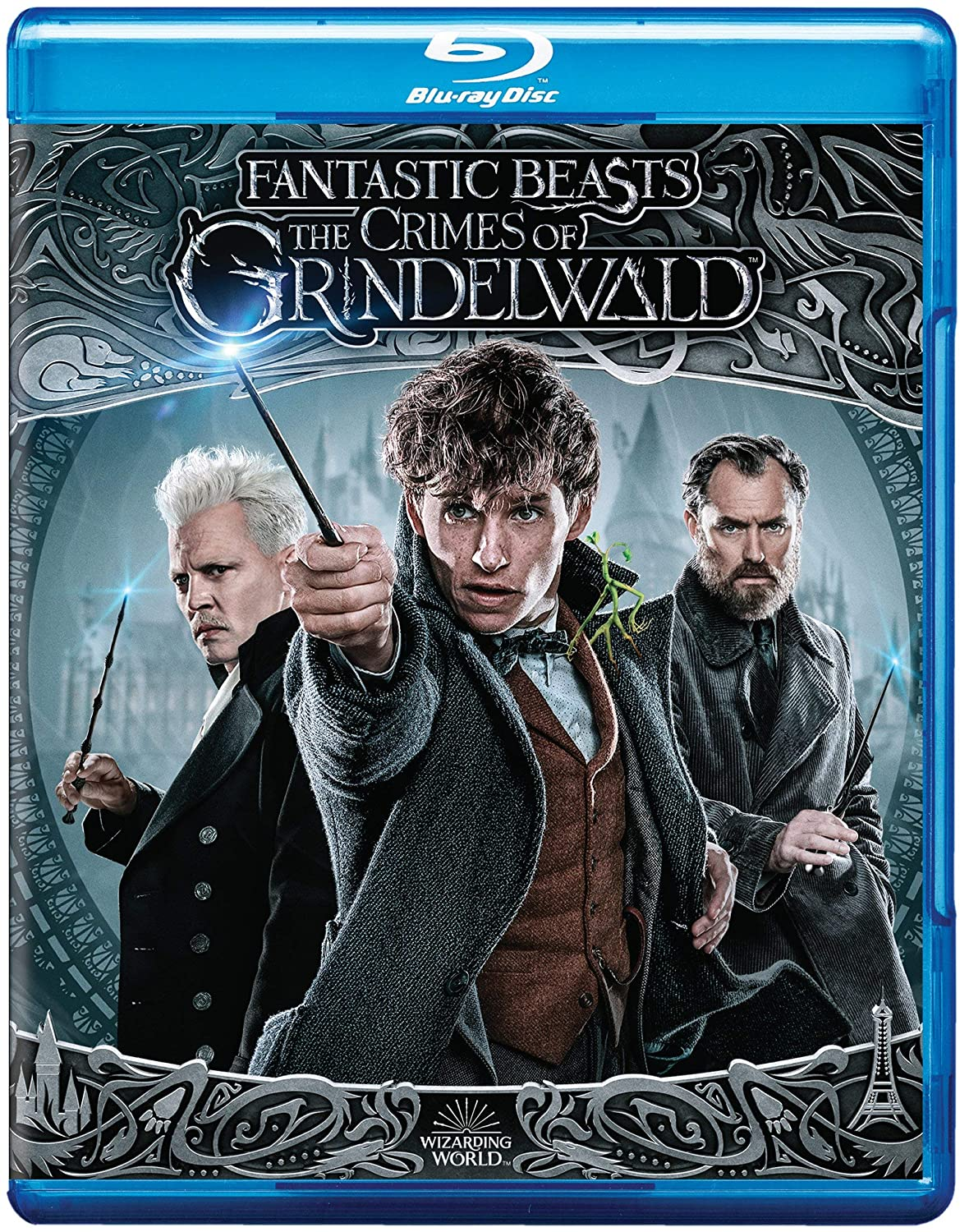 Fantastic Beasts: The Crimes of Grindelwald (Blu-ray + DVD + Digital Combo Pack)