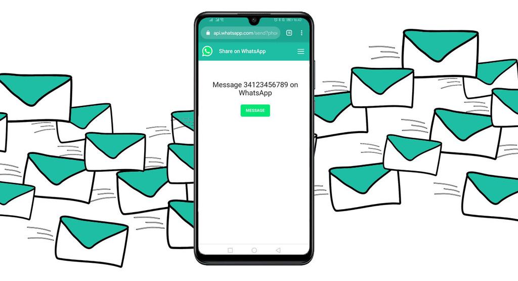 Comment envoyer des messages sur WhatsApp sans ajouter le nombre de contacts