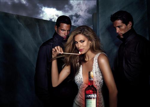 Foto de Eva Mendes para el Calendario Campari 2008 (10/13)