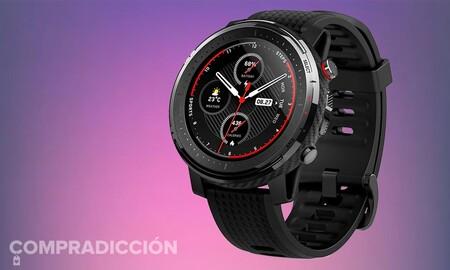 Este smartwatch de Amazfit está a su precio más bajo hasta la fecha en Amazon: Stratos 3 por sólo 125 euros