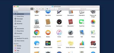 ¿Por qué la carpeta Aplicaciones no me deja sacar archivos que tengo ahí?